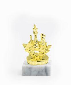 Arany figura - Sakk - FP031