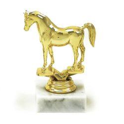 Arany figura - Lovaglás (ló) - F92