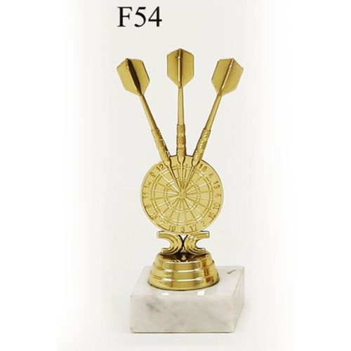 Arany figura - Darts tábla - F54
