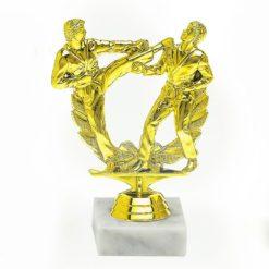 Arany figura - Karate (páros) - F505