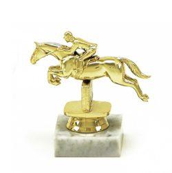 Arany figura - Lovaglás (díjugrató) - F177