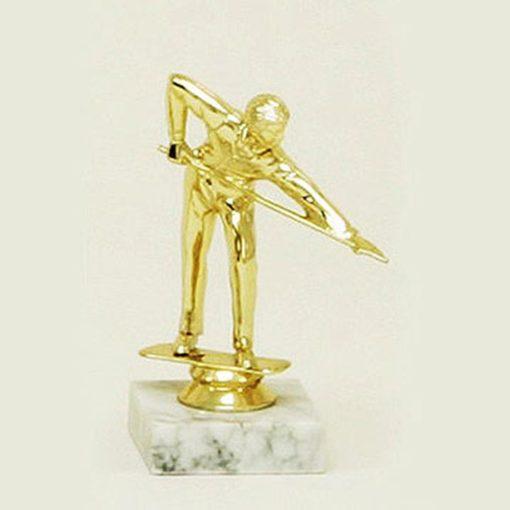 Arany figura - Billiárd - F43