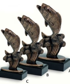 Műgyanta figura - Horgász hal - FG58