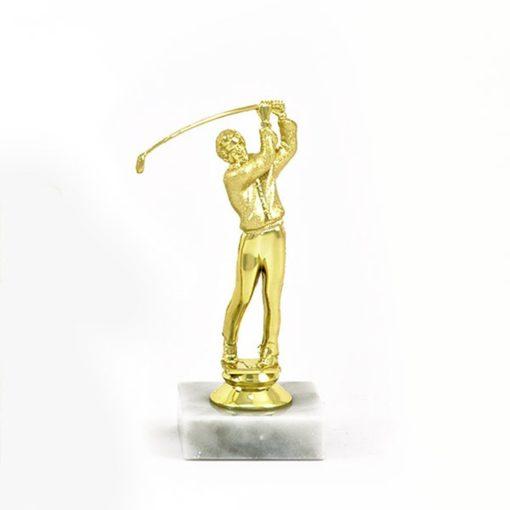 Arany figura - Golf - F427