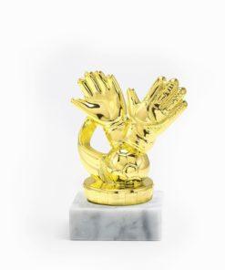 Arany figura - Labdarúgó (kapus) - FP013
