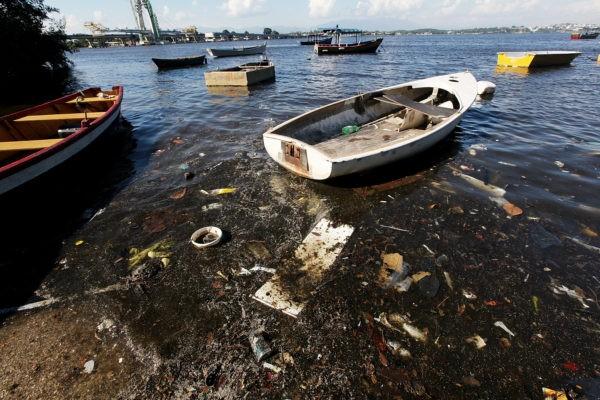 Az evezősök, kajak-kenusok és vitorlások versenye is ezen öböl vizében zajlana