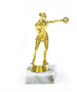 Arany figura - Ökölvívó - F603