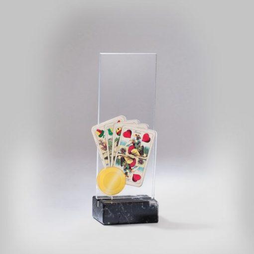 Akril díj - AC615