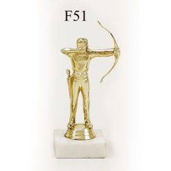Arany figura - Íjász (férfi) - F51