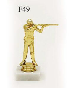 Arany figura - Lövész (vadász) - F49