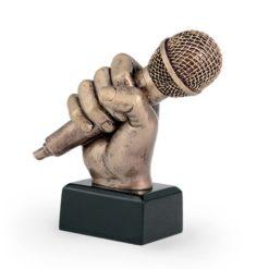 Műgyanta figura - Mikrofon - FG89