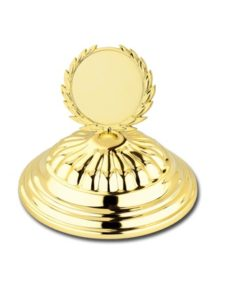 Arany figurás serleg fedő - FED1