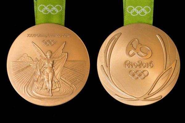 Az idei olimpia aranyérme
