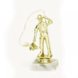 Arany figura - Horgász (halász) - F87