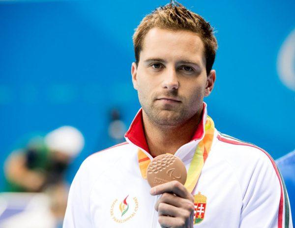 Paralimpia 2016 - Sors Tamás bronzérmes 100 pillangón