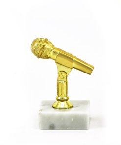 Arany figura - Mikrofon - F444
