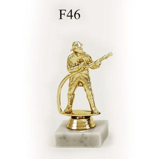 Arany figura - Tűzoltó - F46