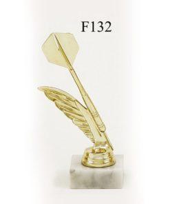 Arany figura - Darts nyíl - F132