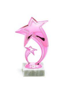 Arany figura - Csillag (rosé) - F602