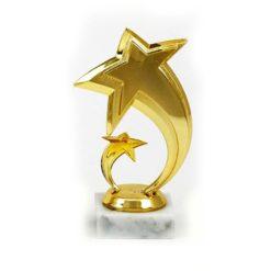 Arany figura - Csillag - F215