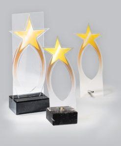 Akril díj - AC702