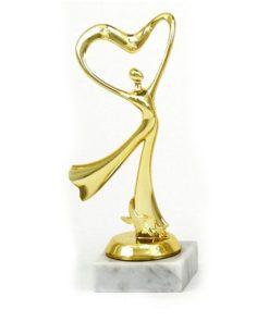 Arany figura - Tánc (modern) - F205