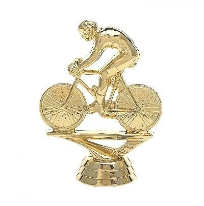Arany figura - Kerékpáros - F911