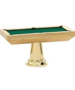 Arany figura - Biliárdasztal - F905