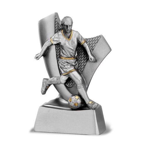 Műgyanta figura - Labdarúgó (női) - FG862