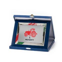 Műbőr dobozos plakett - DP01-G86X