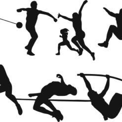 Atlétika gravirbetét-BG036