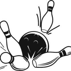 Bowling gravírbetét-BG050