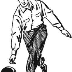 Bowling gravírbetét-BG141-férfi