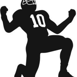 Amerikai Football Gravírbetét-BG-201