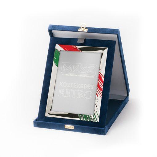 Műbőr dobozos plakett-dp83_g86x